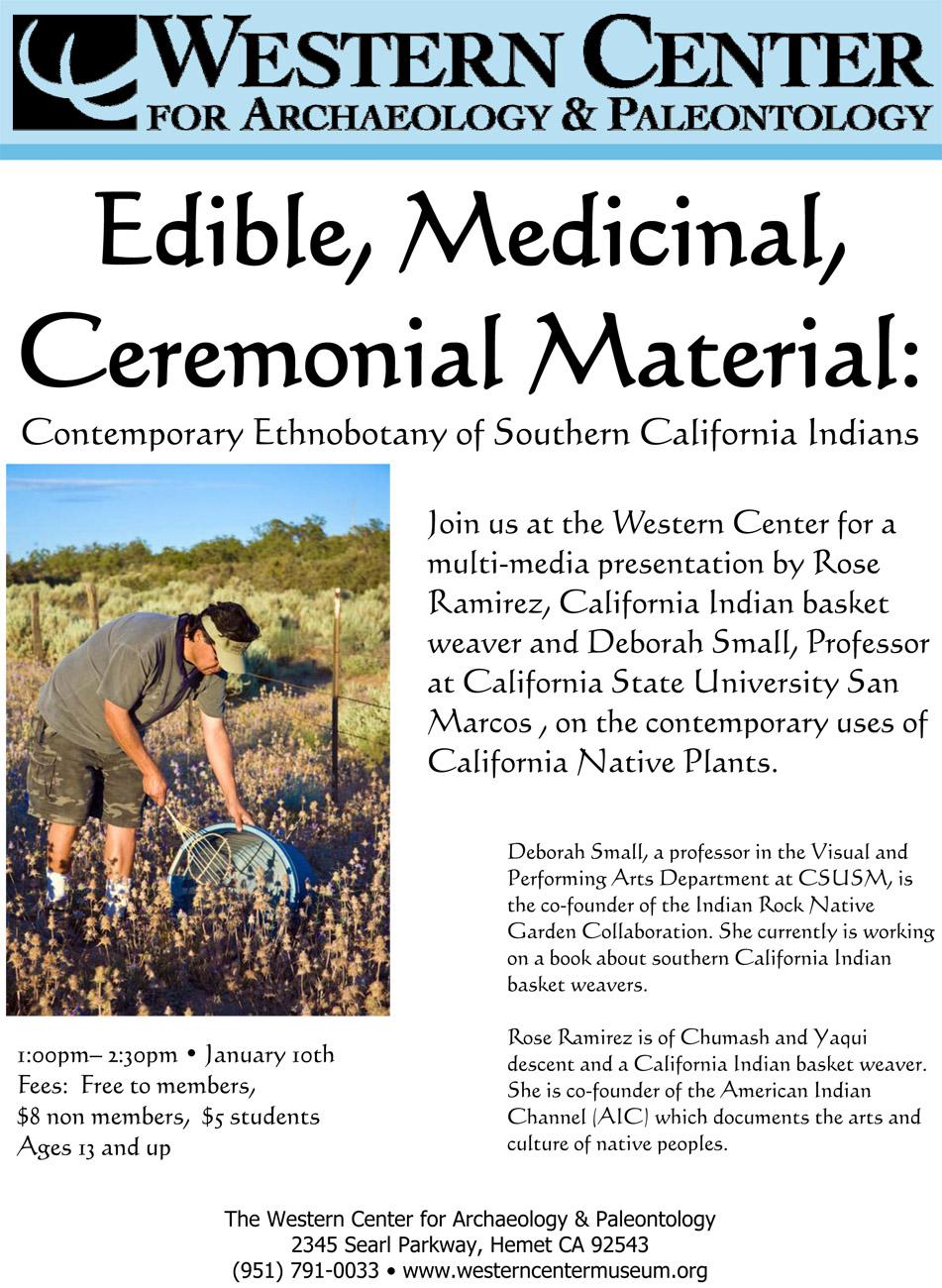 Ethnobotany of Southern California Indians