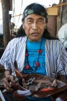 Armando Torres, ironwood carver