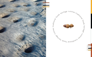 grinding rock and acorn