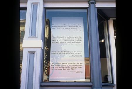 NHI wall text outside