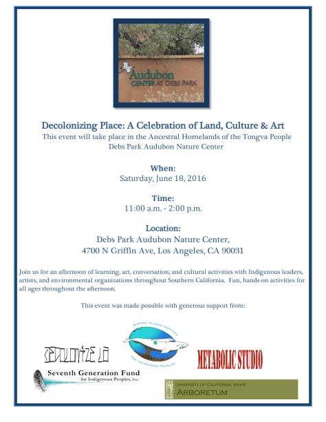 Decolonizing Place at Debs Park-June 18-1