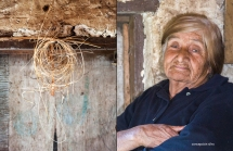 Concepcion Silva and dried split juncus